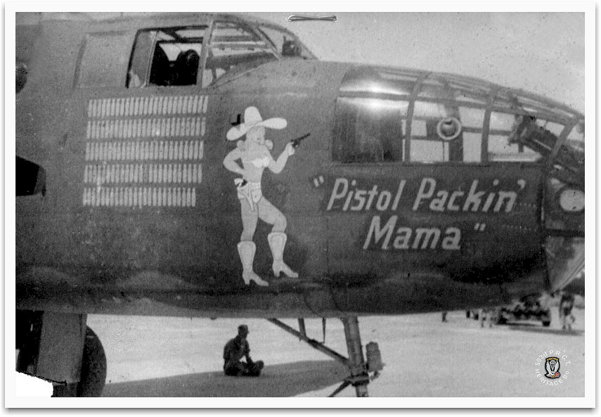 B 24 Liberator Nose Art Chet Nycum's Nose Art ...