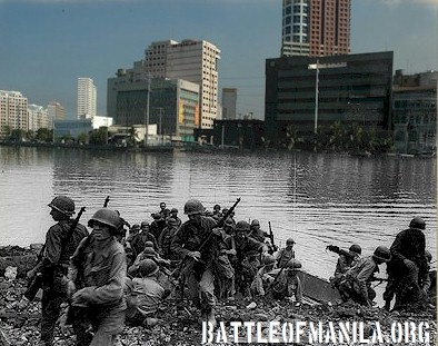 Crossing the Pasig - Then and Now